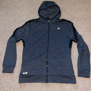Russell athletic zip up jacket